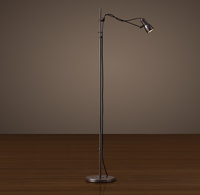 Sewing task floor lamp vintage sewing task floor lamp mozeypictures Image collections