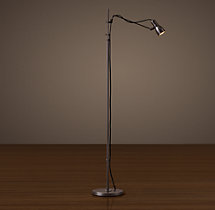 Vintage Sewing Task Floor Lamp