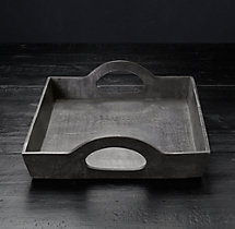 Grand Brasserie Cast Aluminum Small Rectangular Tray