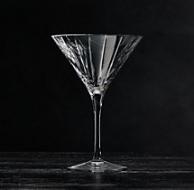 Boulevard Cut Crystal Martini Glass (Set of 2)