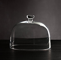 Scissor Cut Glass Dome