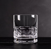 Madison Cut Crystal Triple Old-Fashioned (Set of 2)