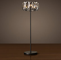 Harlow Crystal Floor Lamp