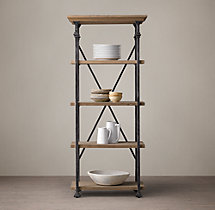Salvage Baker's Rack Tower