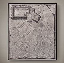 Piranesi's 1761 Plan of Rome