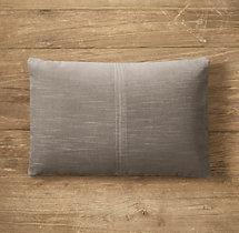 Custom Vintage Velvet 4-Square Lumbar Pillow Cover