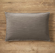 Custom Vintage Velvet Stitched Lumbar Pillow Cover