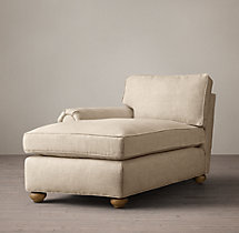Lancaster Upholstered Left-Arm Chaise