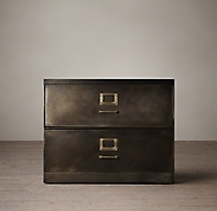 1940s Industrial Modular Office 36 Quot 2 Drawer File Cabinet