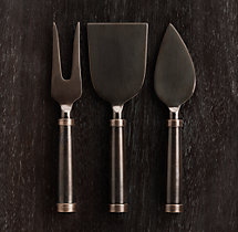 Vintage Hotel 3-Piece Cheese Knives Set