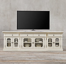St. James Glass Media Console