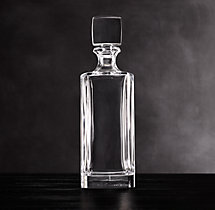 Pierpont Cut Crystal Tall Decanter
