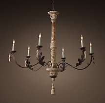 18th C. Acanthus Leaf Chandelier 45""
