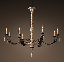 18th C. Acanthus Leaf Chandelier 53""