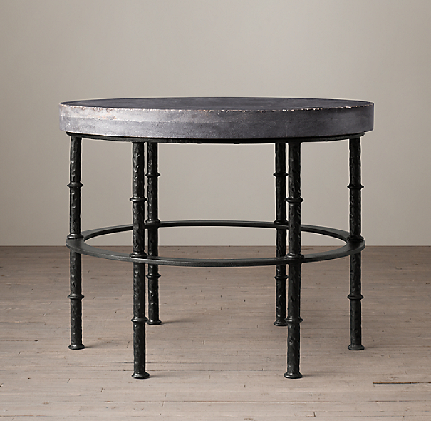 Rowen Bluestone Round Side Table