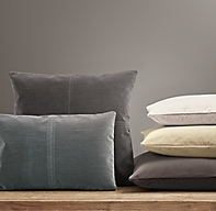 Custom Vintage Velvet 4 Square Pillow Cover