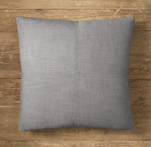 Custom Perennials® Classic Linen Weave 4-Square Square Pillow Cover