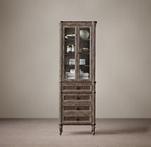Louis XVI Treillage Medium Bath Cabinet