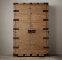 Heirloom Silver-Chest Armoire