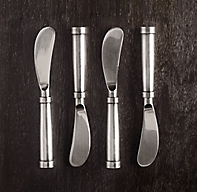 Vintage Hotel Cheese Spreaders (Set of 4)