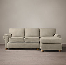 Lancaster Upholstered Right-Arm Chaise Sectional