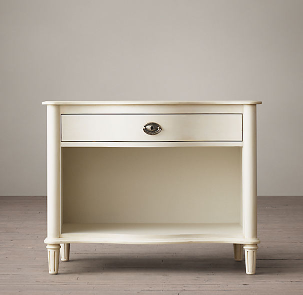 Restoration Hardware Empire Rosette: Empire Rosette Open Nightstand