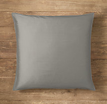 Custom Thai Silk Solid Stitched Square Pillow Cover