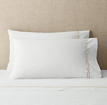 Italian Fretwork Pillowcases (Set of 2)