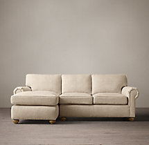 Preconfigured Original Lancaster Upholstered Left-Arm Chaise Sectional