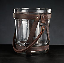 Italian Leather Champagne Bucket