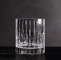 Boulevard Cut Crystal Triple Old-Fashioned (Set of 2)
