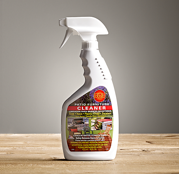 Outdoor furniture cleaner and stain remover for Outdoor furniture cleaner