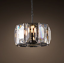 Harlow Crystal Chandelier 19""