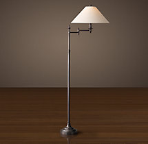 Julian Swing-Arm Floor Lamp