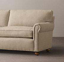 """112"""" Lancaster Upholstered Sofa"""