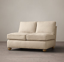 Original Lancaster Upholstered Armless Sofa