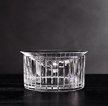 Boulevard Cut Crystal Caviar Server