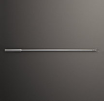 Estate Drapery Wand - Antique Nickel