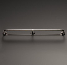 Cast Iron Hotel Double Rod - Vintage Bronze