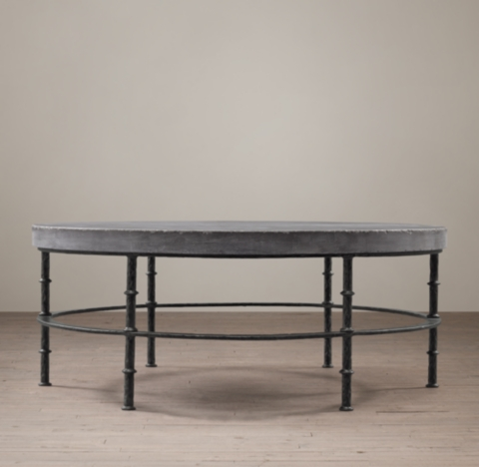 Bluestone Round Coffee Table