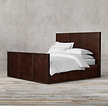 Marseilles Panel Bed with Footboard