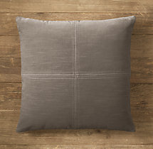 Custom Vintage Velvet 4-Square Square Pillow Cover