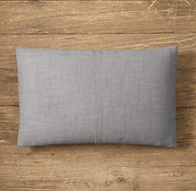 Custom Perennials® Classic Linen Weave 4-Square Lumbar Pillow Cover