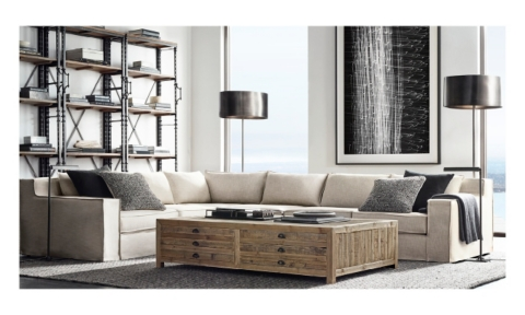Restoration Hardware Living Rooms Select Final Sale items