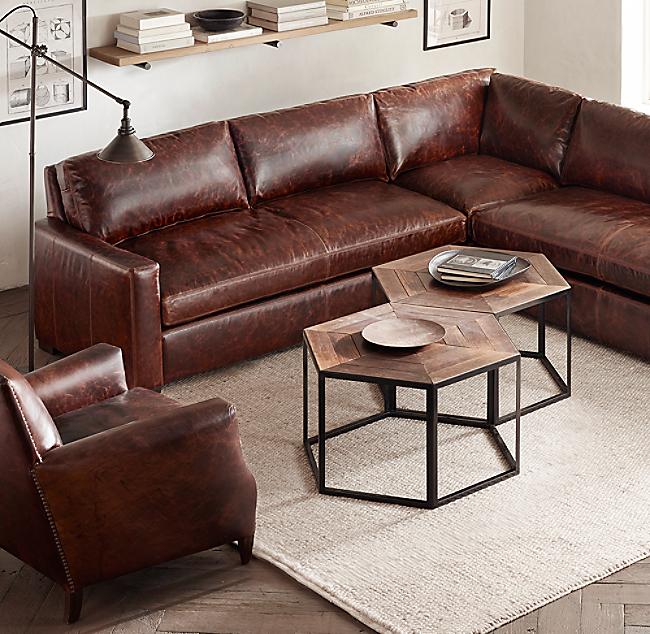 Terrific Hexagonal Azobe Wood Steel Coffee Table Inzonedesignstudio Interior Chair Design Inzonedesignstudiocom