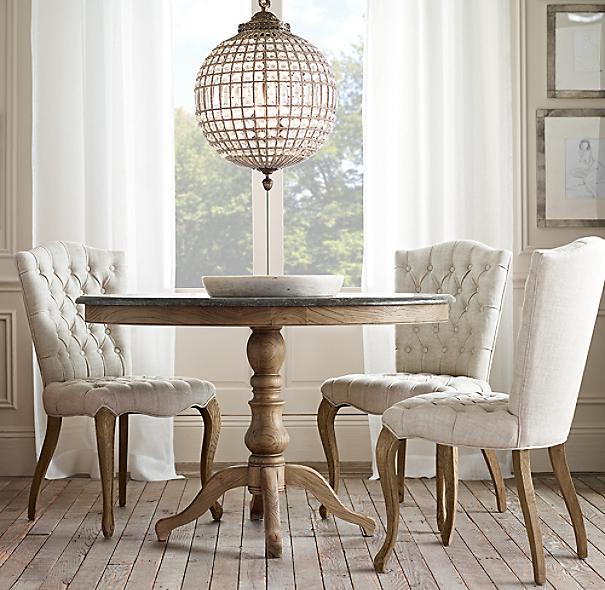 1840 Bluestone Pedestal Dining Table