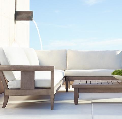 coronado collection - weathered teak | rh