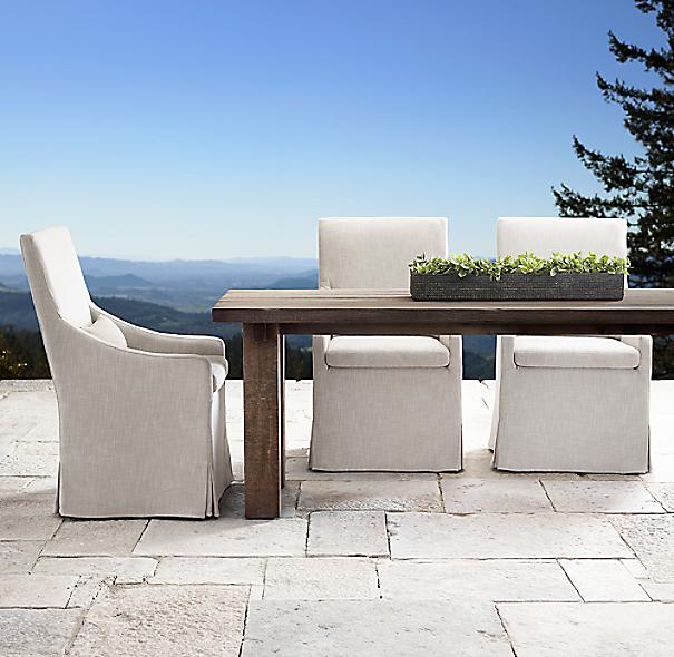 aspen rectangular dining table