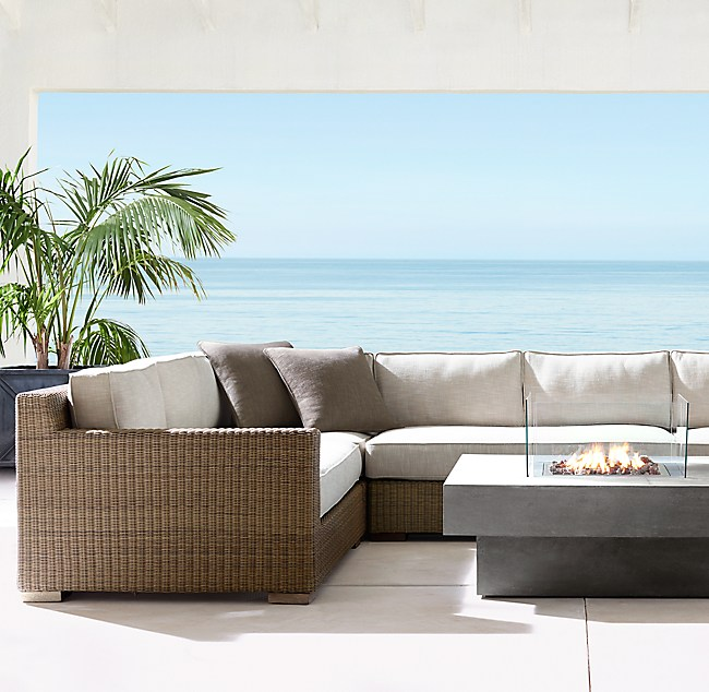 Biscayne Luxe Customizable Sectional