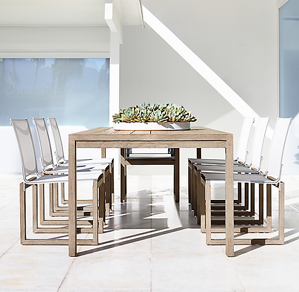 Aegean Teak Rectangular Dining Table